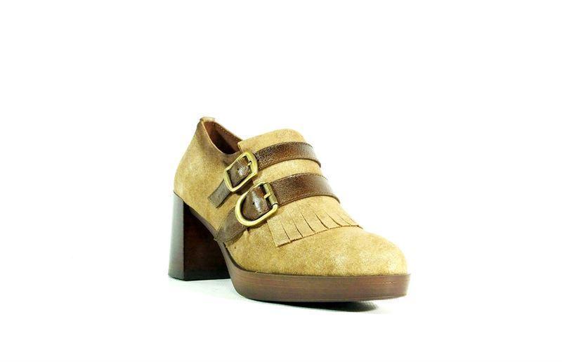 18cf986d Hispanitas- Zapato abotinado topo - Imagen 1