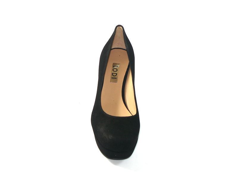 Lodi- Zapato corte salón ante negro - Imagen 3 200b5551ccf0