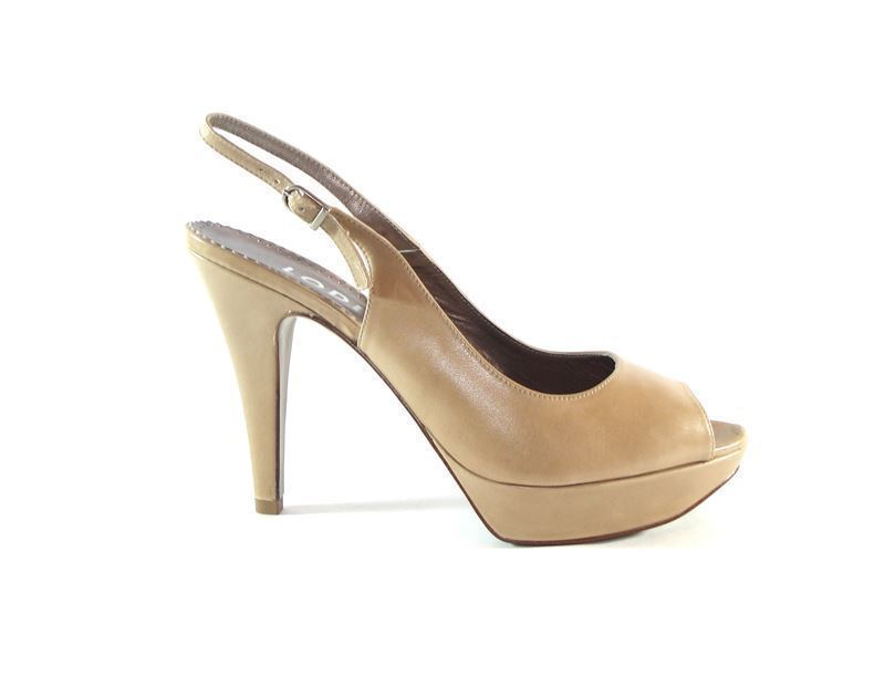 la mejor moda nuevo estilo comprar popular Lodi- Zapato tacón beig plataforma