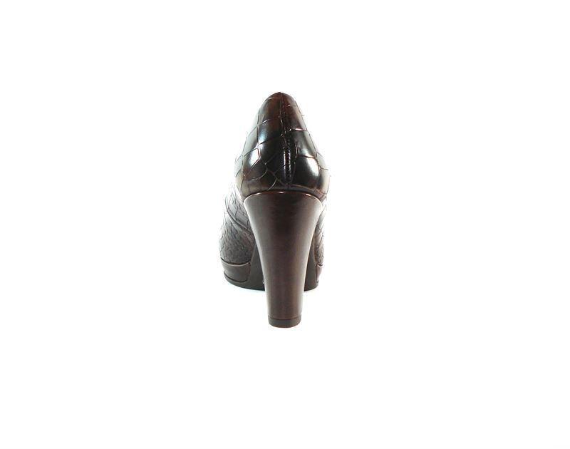 7d3e60ac Zapato Zapatos Wonders marrón corte salón H0UUzW