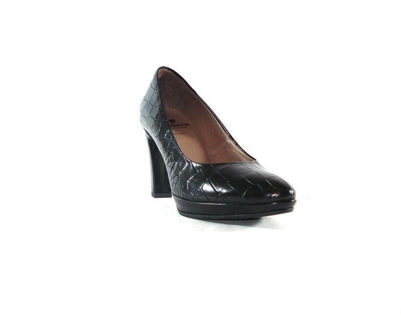 Wonders Zapato corte Zapatos negro salón qUYx0q